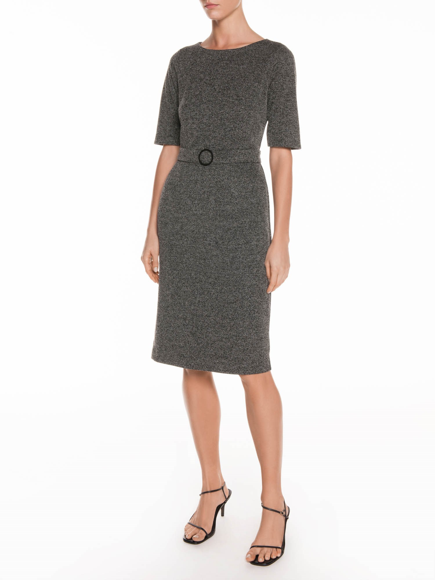 Veronika Maine Tweed O Buckle Dress | Stay at Home Mum